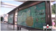 重庆某公交站台张贴的一张旅游地图,竟出现好几处错字!