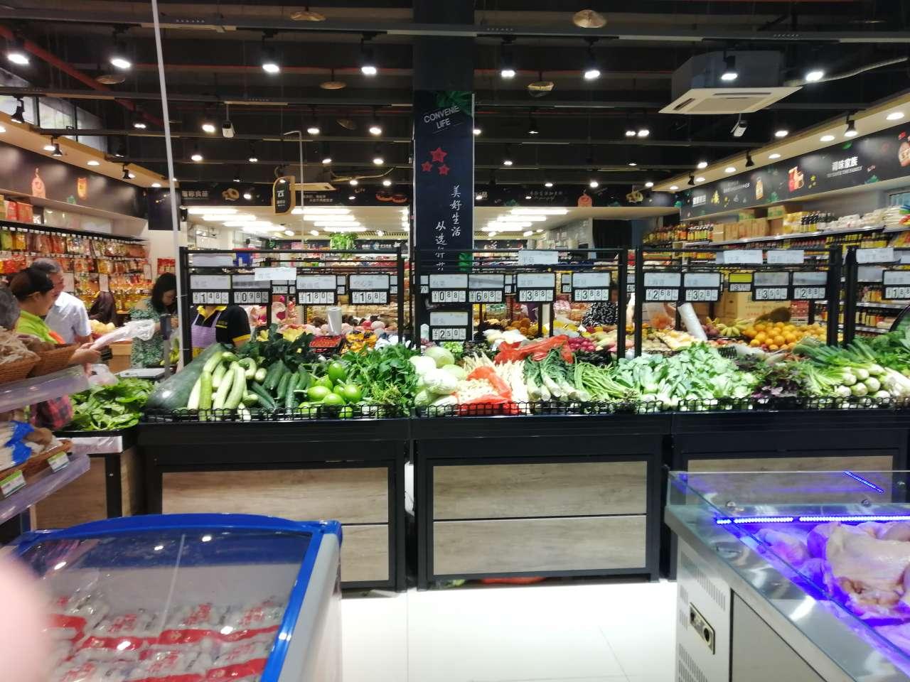 """梁平上海城周边""""永辉、要得、福满多、华伟"""",好多超市"""